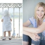 family lifestyle portrait of young toddler and another of beautiful Mum in a park in Geneva Geneve by Gill Maheu Photography, photographe de famille