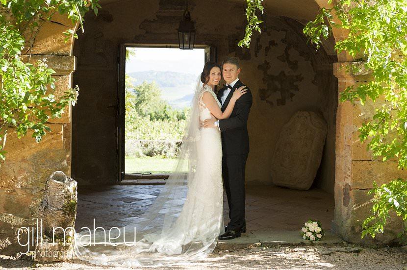 mariage chateau de bagnols wedding