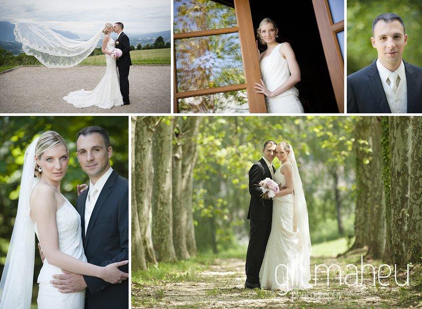 Congratulations to Valérie & Sylvain … une année déjà !!!!  mariage Hotel des Saint Peres, Chambery