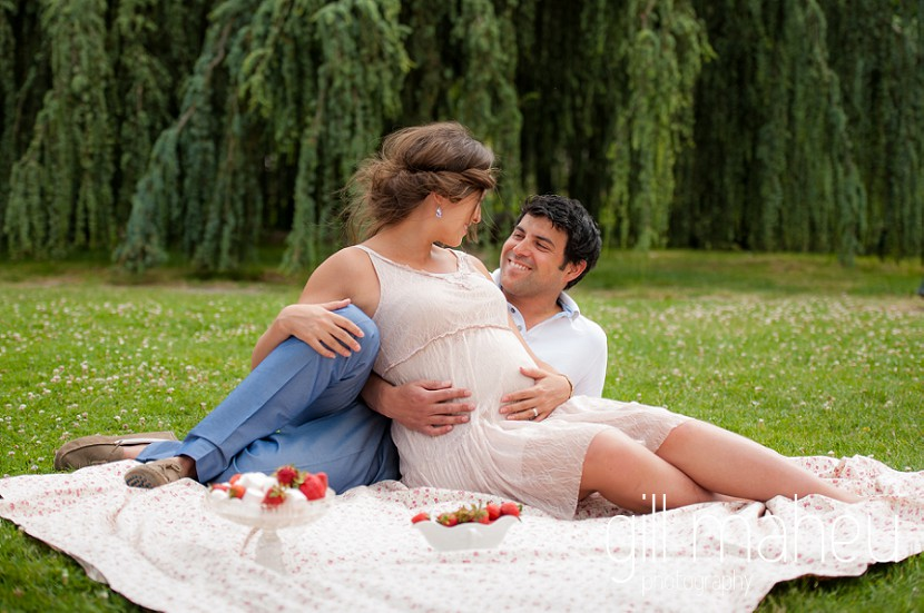 séance grossesse – Sonia & Victor – Parc de la Tête d'Or – Lyon