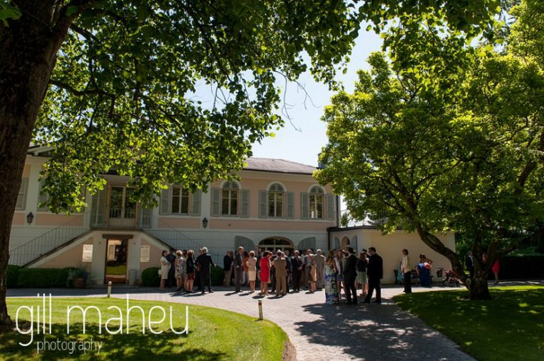 Mairie de Versoix before Baron le Tavernier Chexbres civil wedding by Gill Maheu Photography, photographe de mariage