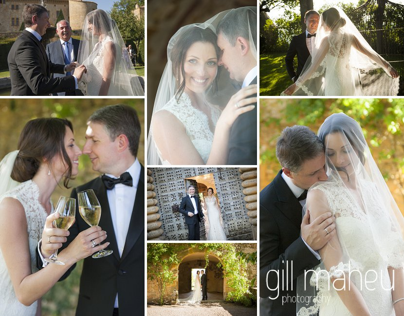 Congratulations to Anastasia & Andrey – one year already !!! wedding Chateau de Bagnols