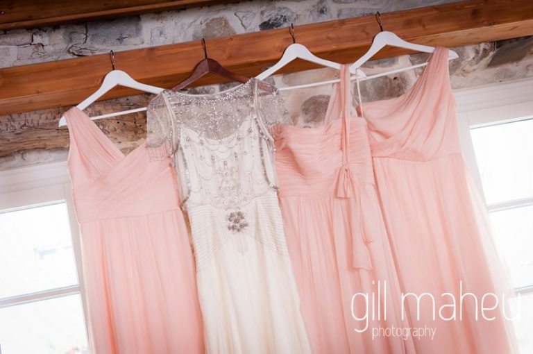 1920 inspired beaded Jenny Packham wedding dress and bridesmaids dresses at Hotel Imperial Palace, Annecy wedding by Gill Maheu Photography, photographe de mariage