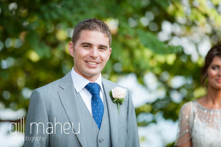 portrait of the groom at Hotel Imperial Palace, Annecy wedding by Gill Maheu Photography, photographe de mariage