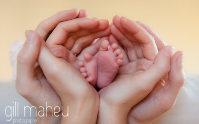 beautiful baby toes