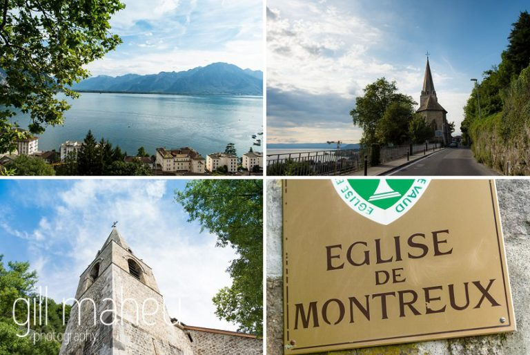 detail photos of the Eglise de Montreux before Fairmont Le Montreux Palace, Lake Geneva wedding by Gill Maheu Photography, photographe de mariage
