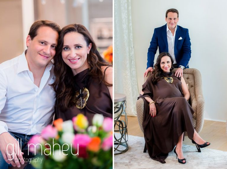 close up portraits of future parents in maternity session in Geneva, by Gill Maheu Photography, photographe de Grossesse et lifestyle