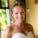 portrait of beautiful bride at Abbaye de Talloires, Lake Annecy wedding by Gill Maheu Photography, photographe de mariage