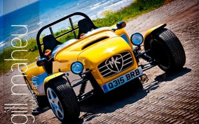 kit car at the beach …