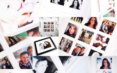 albums et cadres – portrait de famille