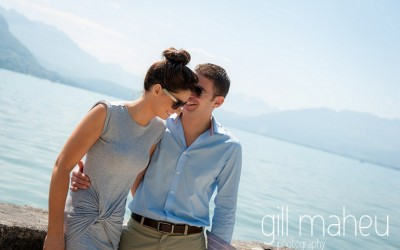 engagement shoot – Fionnuala & Chris – Annecy