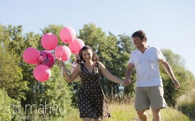 Elisabeth & Serge – engagement shoot- Annecy