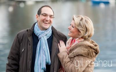 engagement shoot at Talloires – Gill Maheu Photography