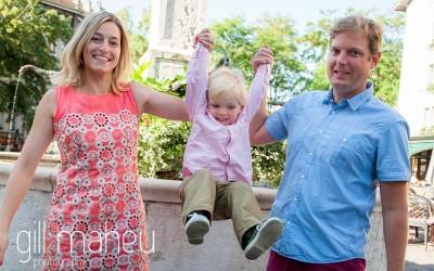 family lifestyle shoot in the sunshine, Geneva