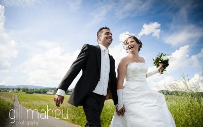 time to design gorgeous wedding albums of fabulous summer weddings – Gill Maheu Photography