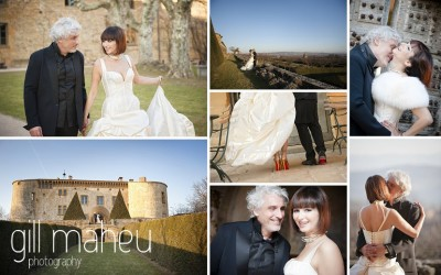 Congratulations – one year on … mariage Chateau de Bagnols – Gill Maheu Photography