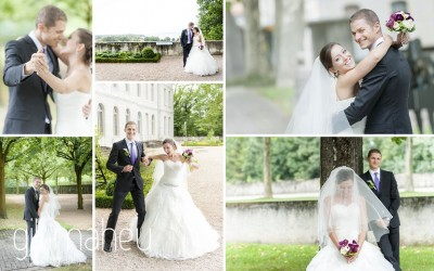 Congratulations to Marta & Nicolas – one year already – wedding Nyon