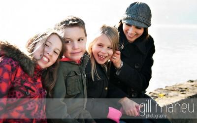 portrait de famille – annecy le vieux – sally p and family