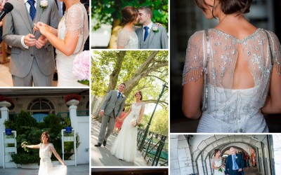 Congratulations – one year ago today !  Fionnuala & Chris – Annecy