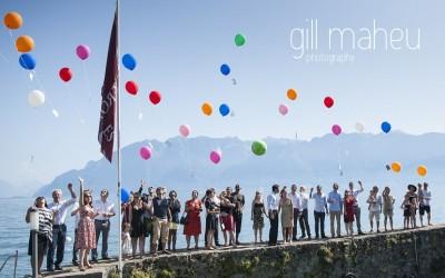 wedding sneaky peek – Celine & Olivier – Chateau des Glerolles, Lausanne