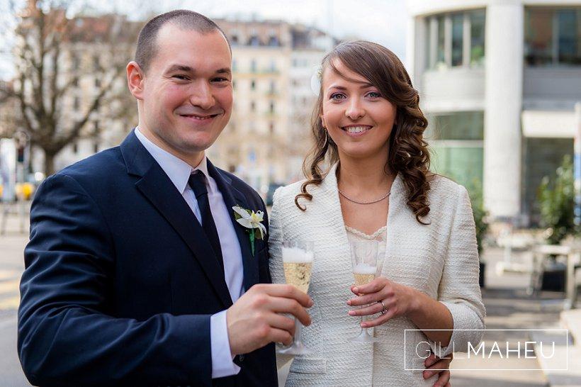 Mariage civil à la Mairie des Eaux Vives, Genève – V&K