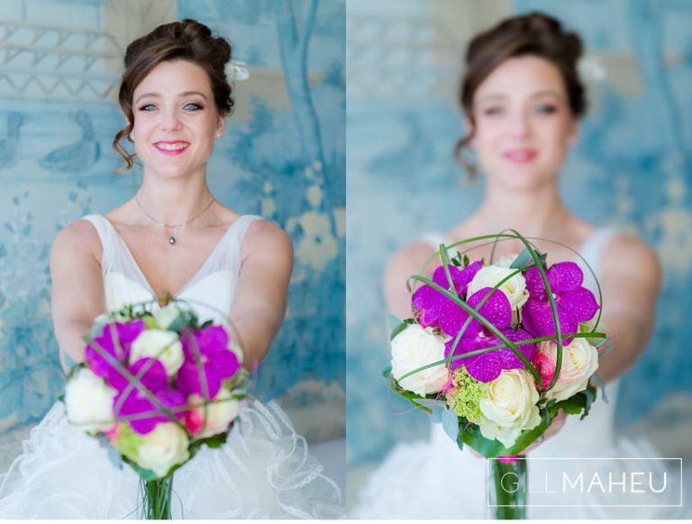 close up portraits of incredibly stylish bride at Lausanne wedding by Gill Maheu Photography, photographe de mariage
