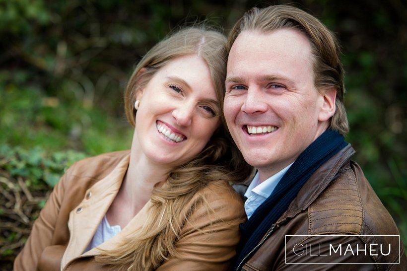 Engagement shoot in the gardens of the Abbaye de Talloires – E&R