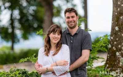 engagement shoot geneva satigny