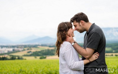 engagement shoot – Satigny, Geneva
