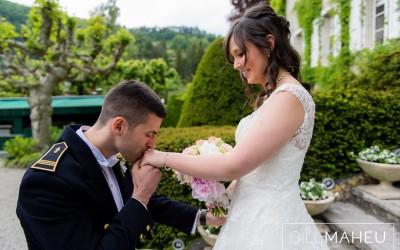 AI & H's Magical wedding at the Abbaye de Talloires