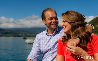 sunshine engagement shoot abbaye de talloires august 2015