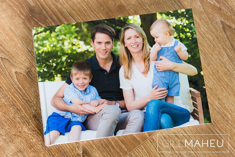 Stylish family lifestyle portrait album