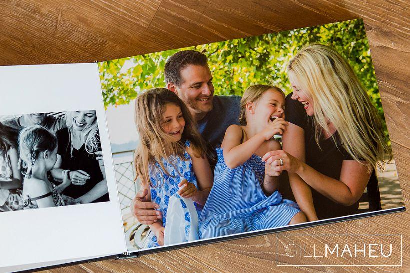 Stylish family lifestyle portrait album – Geneva