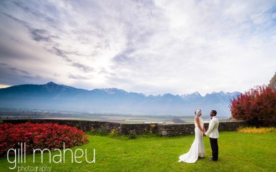Congratulations on your First Wedding Anniversary – G&O, Grand Hotel du Lac, Vevey
