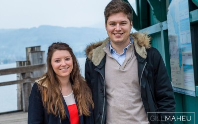 engagement shoot – M&A – Menthon St Bernard, Lake Annecy