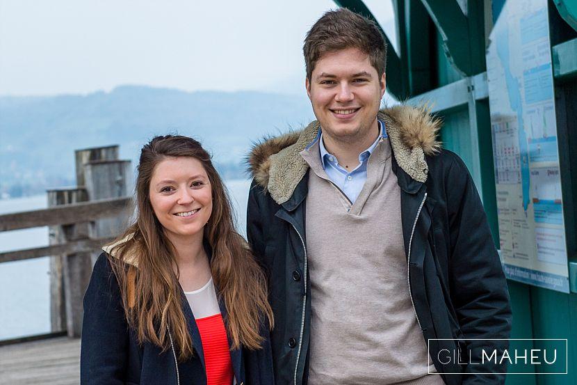 engagement shoot – M&A – Menthon St Bernard, Lake Annecy