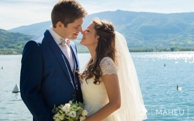 Stunning Annecy le vieux and Talloires wedding – M&A