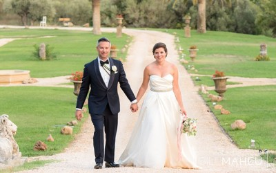 A dream wedding – Chateau de Robernier – Provence – C&A