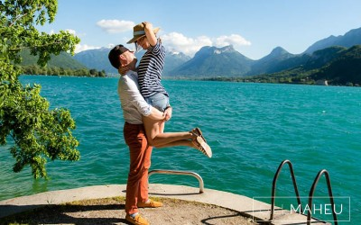 engagement shoot – M&A – Talloires Sunshine