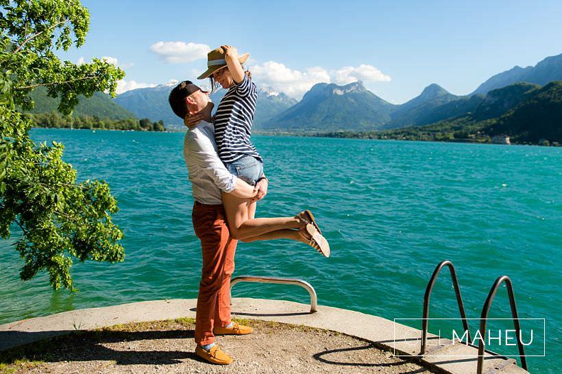 engagement shoot – M&A – Talloires Sunshine