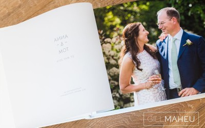 luxury Queensberry wedding album – A&T