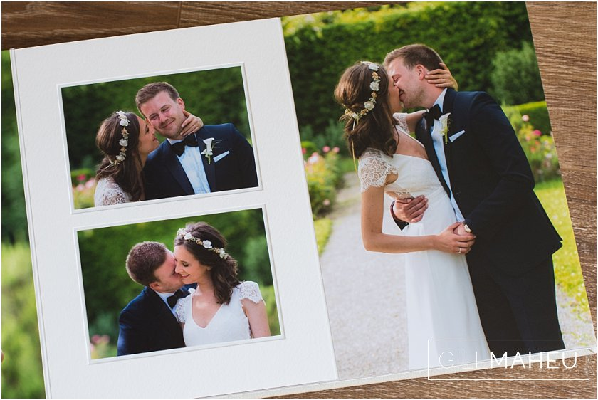 Divine Luxury Queensberry wedding album