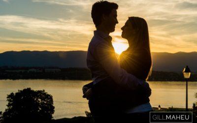 Preview – gorgeous sunset engagement shoot – AC&M – Geneva Golf Course