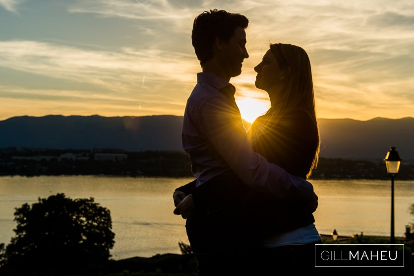 Preview – gorgeous sunset engagement shoot – AC&M – Geneva Golf Course