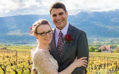A beautifully relaxed civil wedding – Satigny – L&T