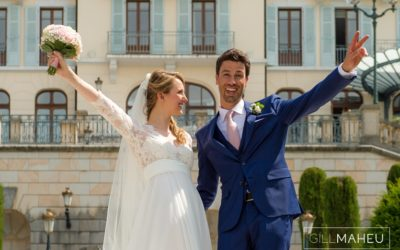 A stunning stormy wedding – Palace de Menthon, Annecy – A&M