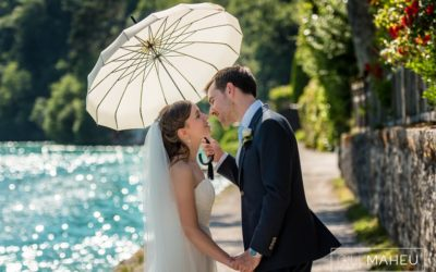 summer wedding abbaye de talloires gill maheu photography