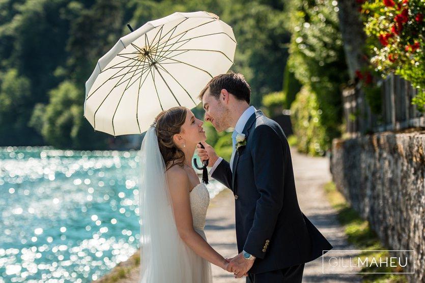 summer wedding abbaye de talloires gill maheu photography