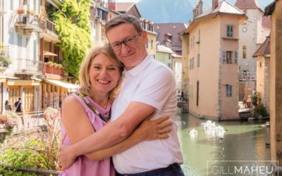 brilliant engagement shoot – Annecy