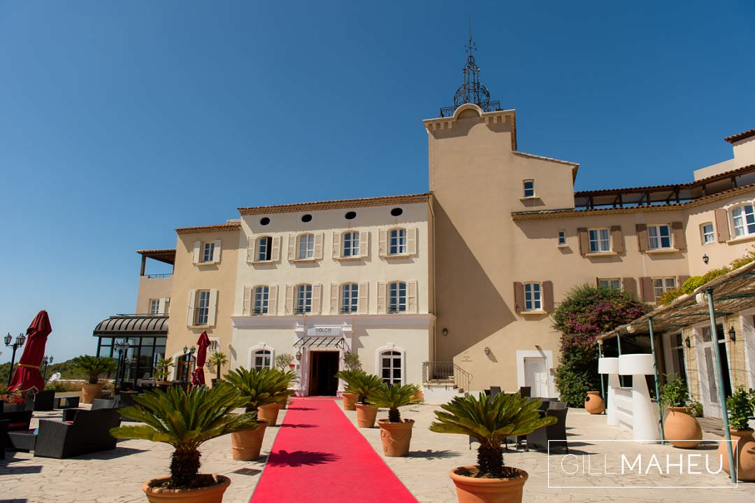 stuuning september wedding dolce fregate bandol